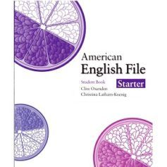 American English File Starter Student Book American English