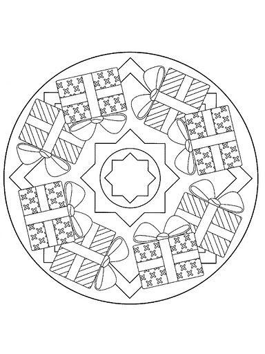 Mandala Natale doni | Mandala | Pinterest | Mandala ...