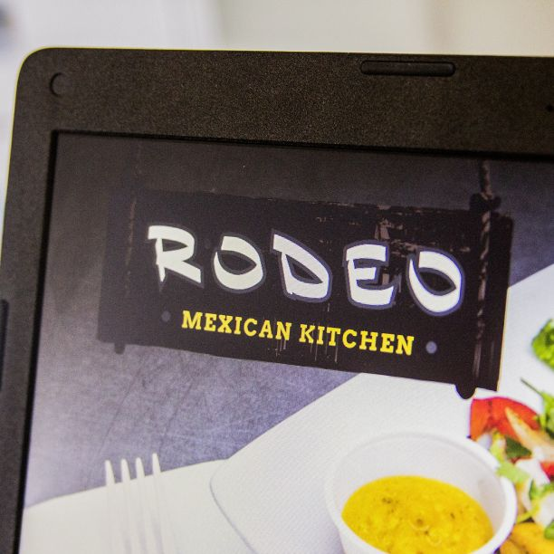 Rodeo Mexican Restaurant logo revision by Monte