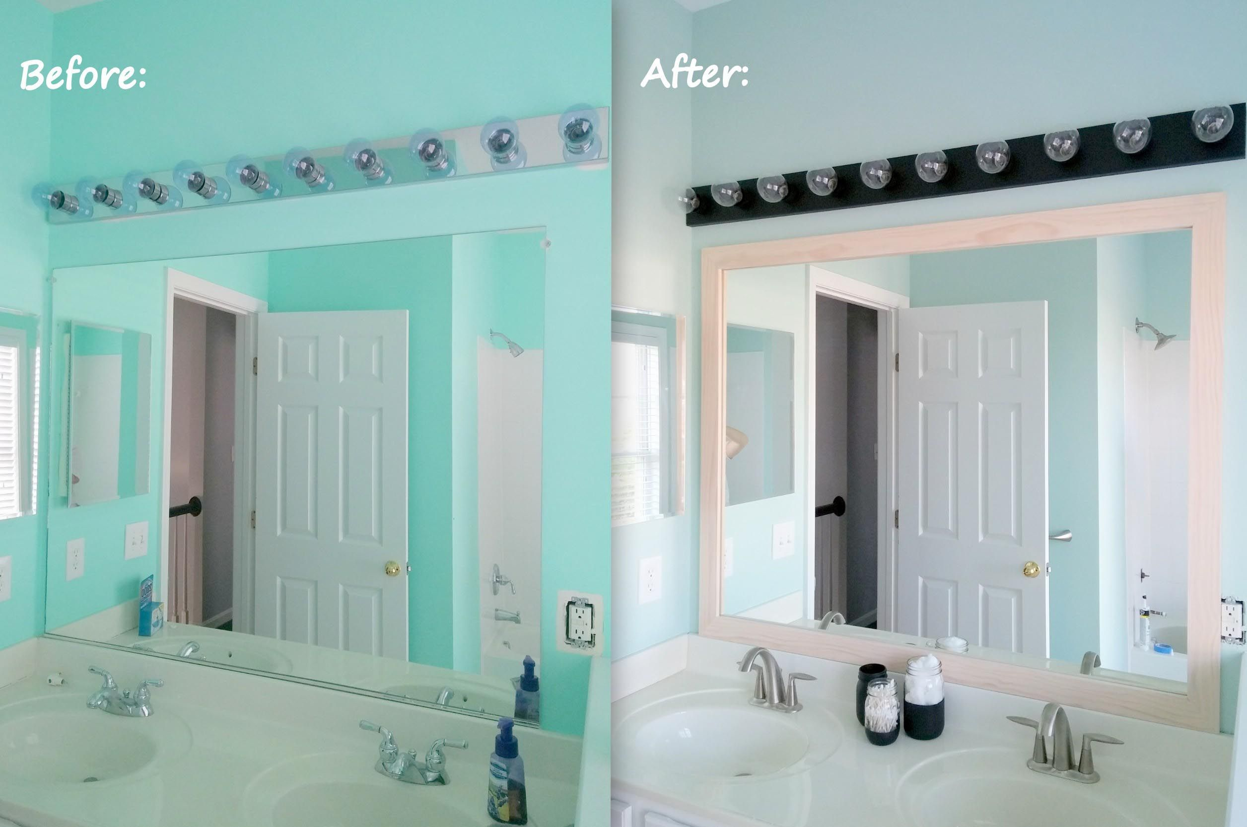 Photo of Restore bathroom lights above the mirror & bathroom lights above the mirror