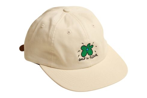 a9d35b3736e GOLF LE FLUER DAD HAT CREAM - Golf Wang