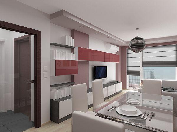 Best Cool One Bedroom Apartment Interior Design One Bedroom 640 x 480