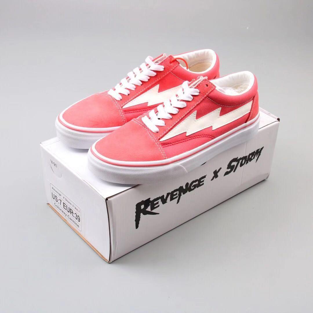 Revenge X Storm Bolt Pink Dream Shoes Shoes Vans Shoes
