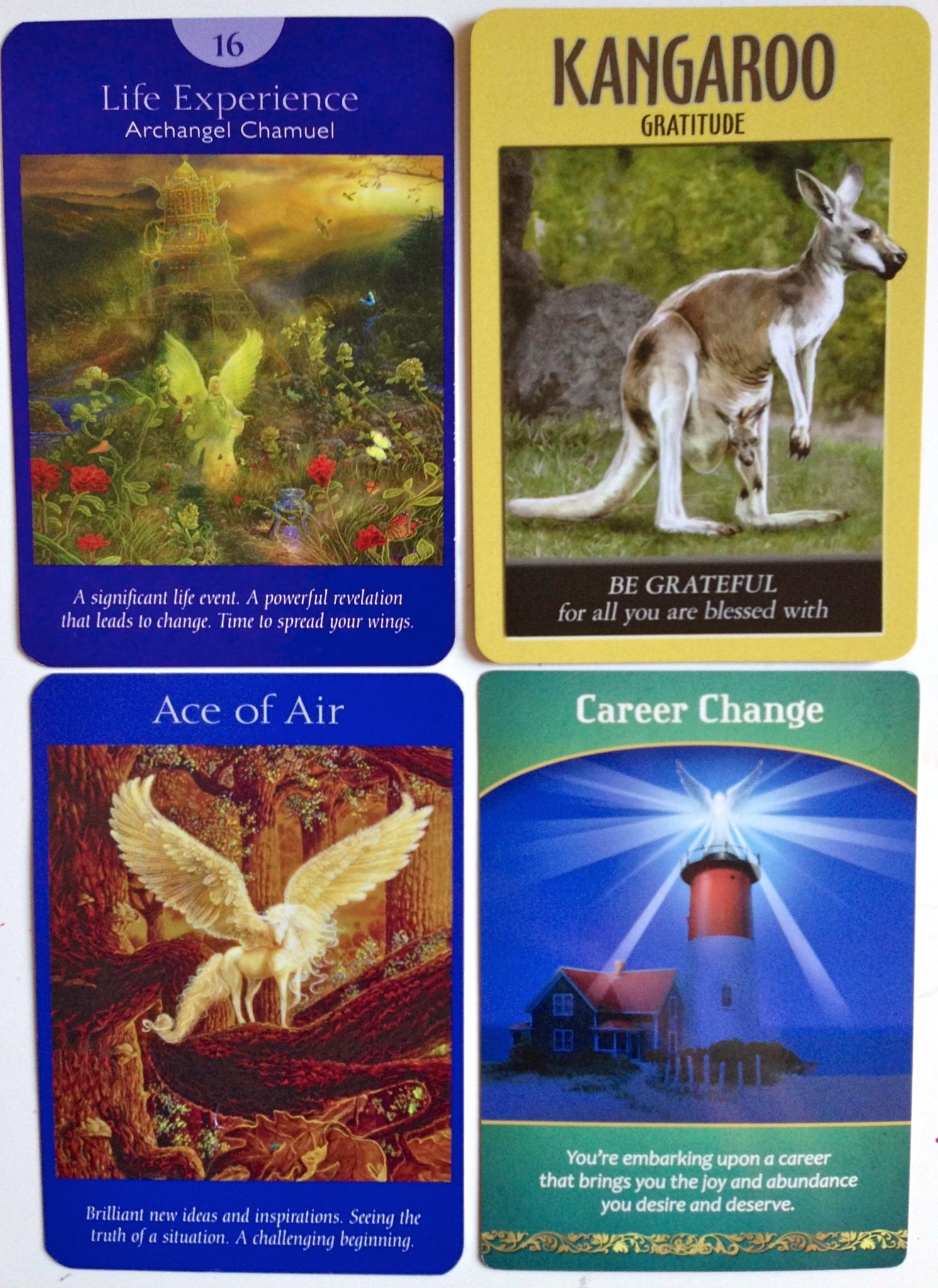 free angel card reading online