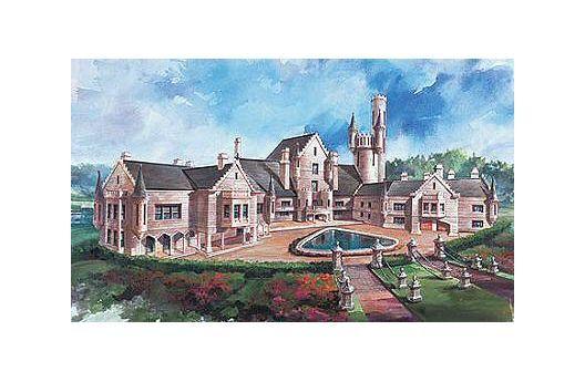 European Style House Plan 8 Beds 6 5 Baths 9787 Sq Ft Plan 48 624 Castle Plans Castle House Plans Balmoral House