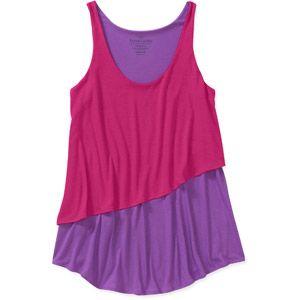 Faded Glory Women's Layered Knit Tank #fittingroomspring