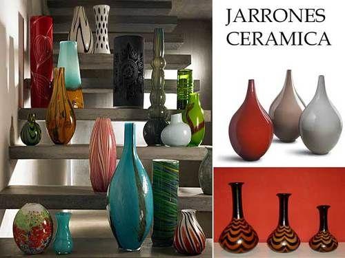 jarrones de cermica para decorar interiores jarrones
