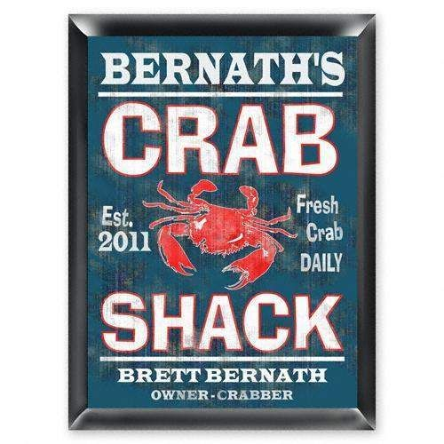 Personalized Traditional Pub Sign - Crabschack