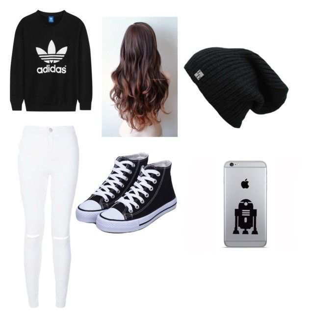 """""""❤️"""" by sshultz004 on Polyvore featuring adidas Originals, women's clothing, women's fashion, women, female, woman, misses and juniors"""