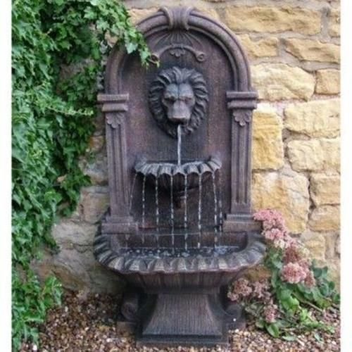 37 Charming Garden Wall Fountains Water Features | Wall Fountains, Water  Features And Fountain