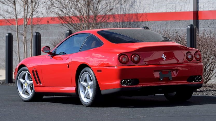 1999 Ferrari 550 Maranello R453 Indy 2020 in 2020