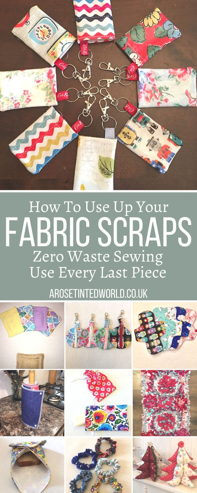 How To Use Up Your Fabric Scraps