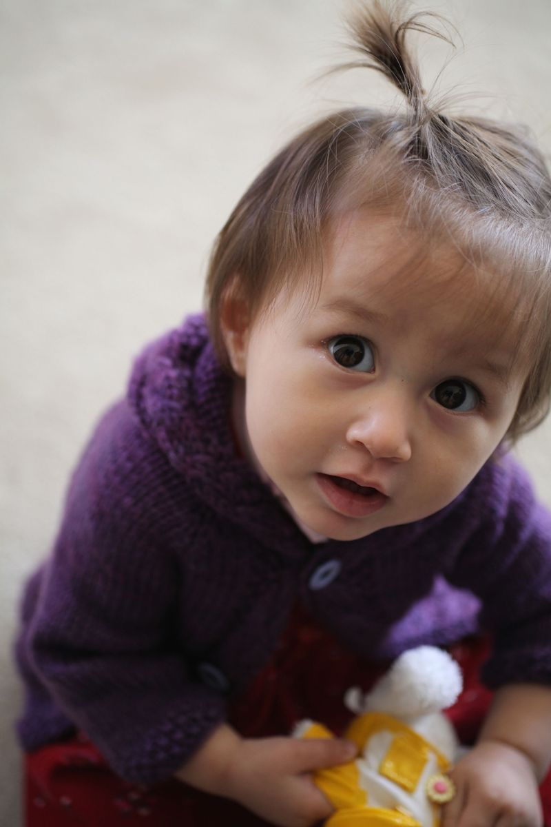 some tips for knitting for babies.