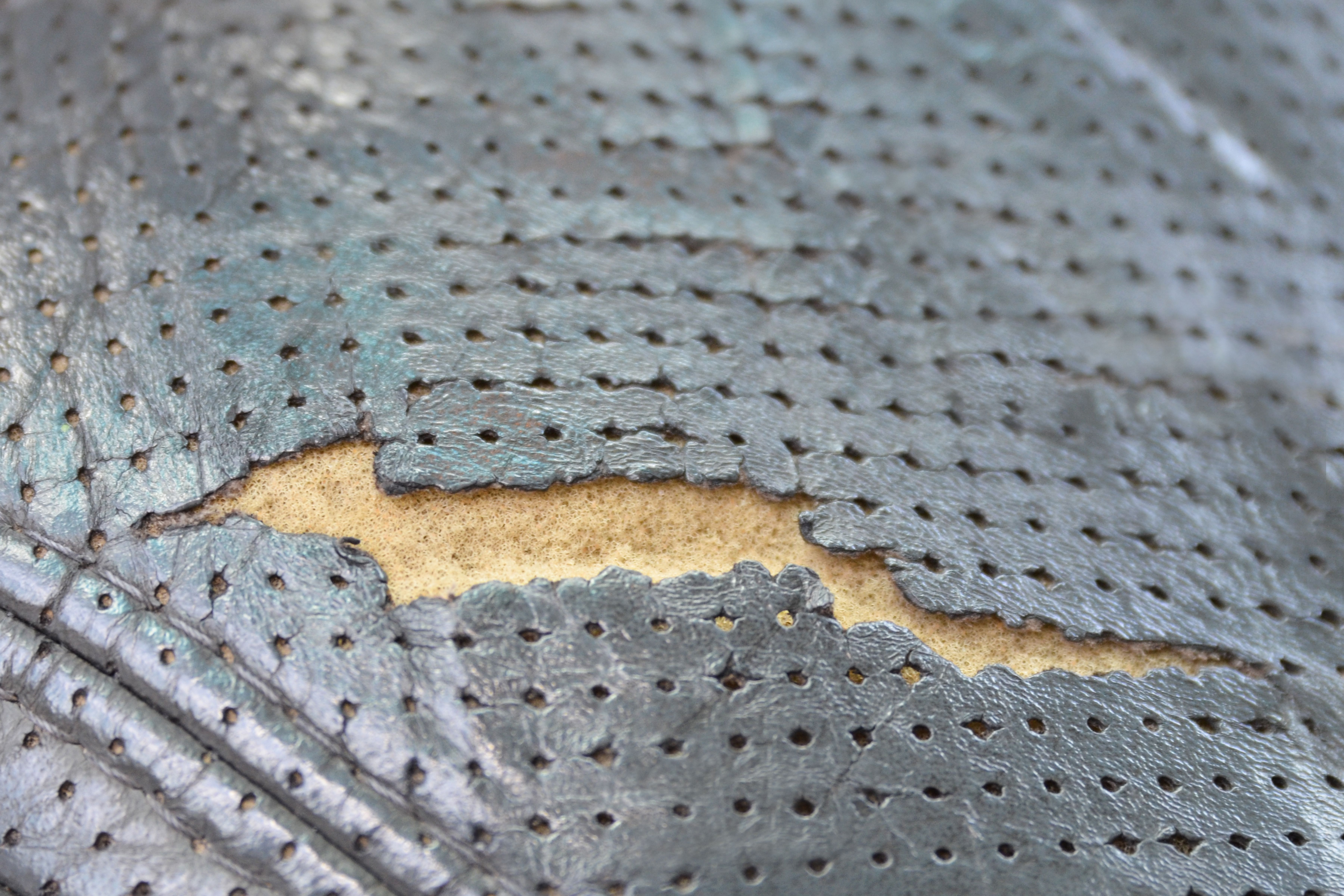 How To Repair A Hole In Leather Car Seat