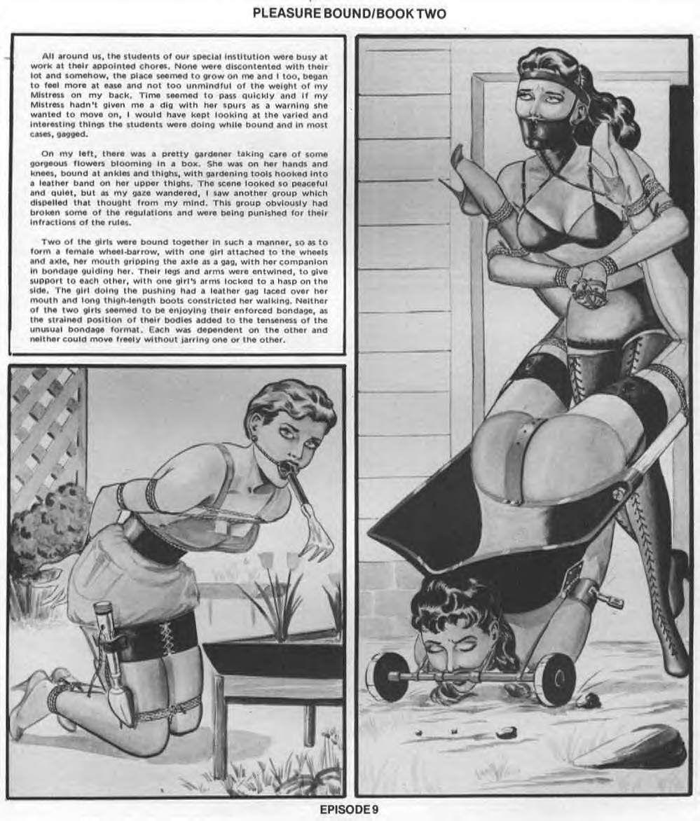 Boys bare bottom spanking art