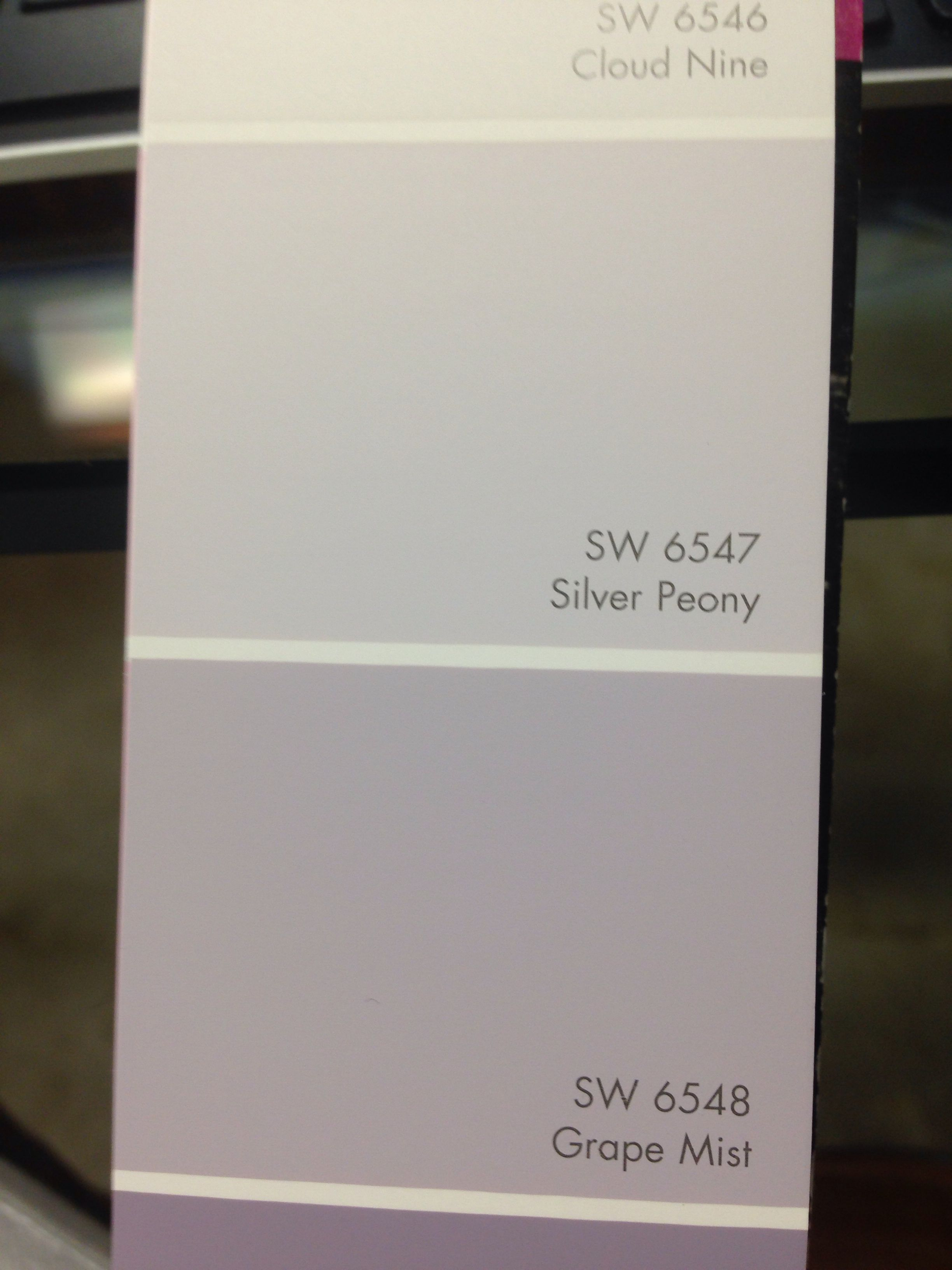 Silver Peony Sherwin Williams Flores In 2019 Kids Room