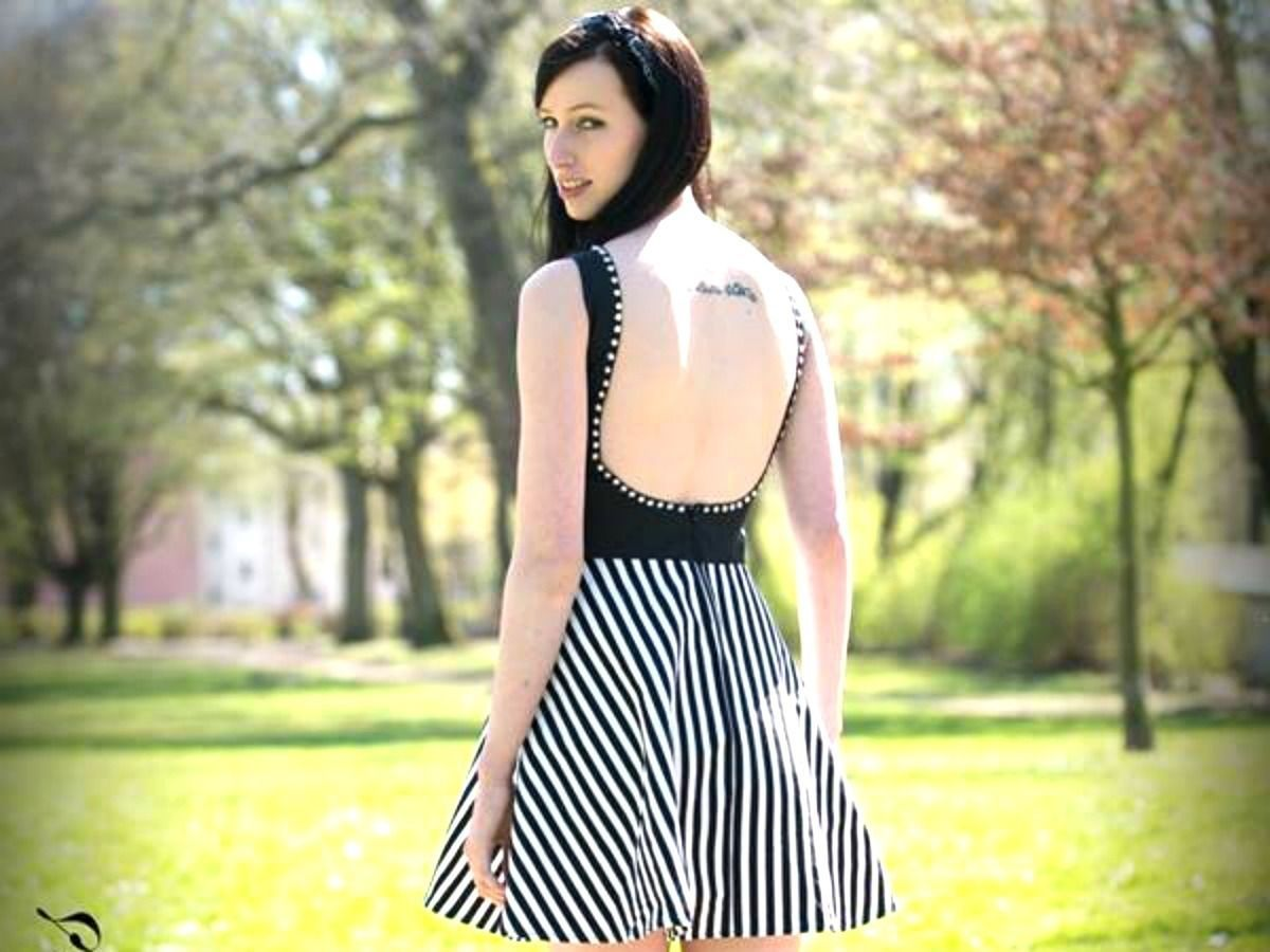 The Backless Dress Schnittmuster & Anleitung by Sewera ...