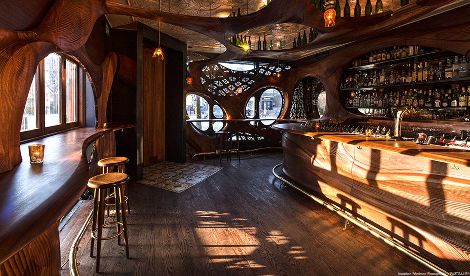 чем картинки деревянного ресторана есть