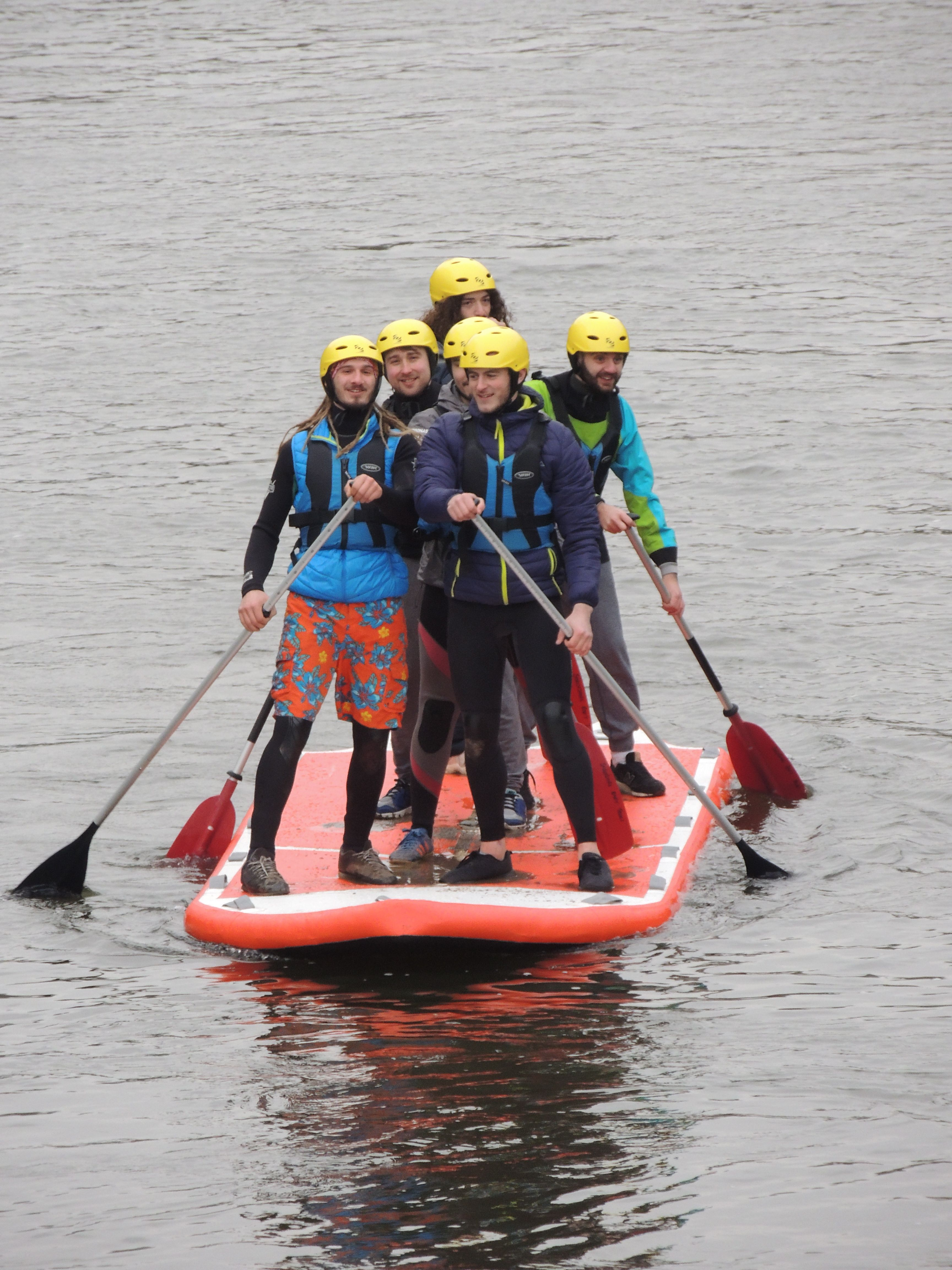 f6ae421262 Hire a mega SUP for between 5-8 friends. | Shropshire Raft Tours ...