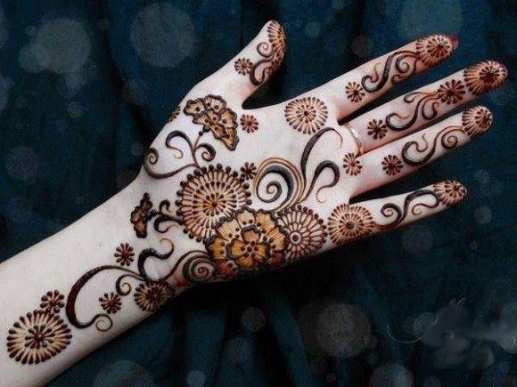 Arabic Mehndi Patterns S : Simple arabic mehndi designs