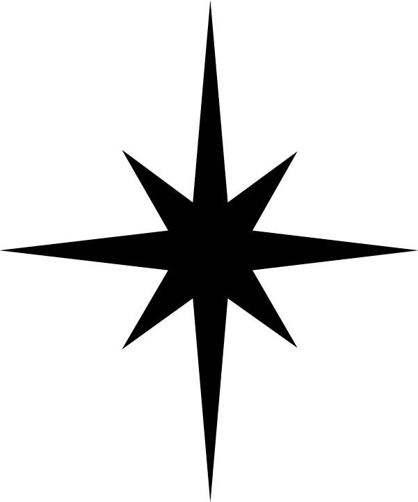 Christmas star svg file