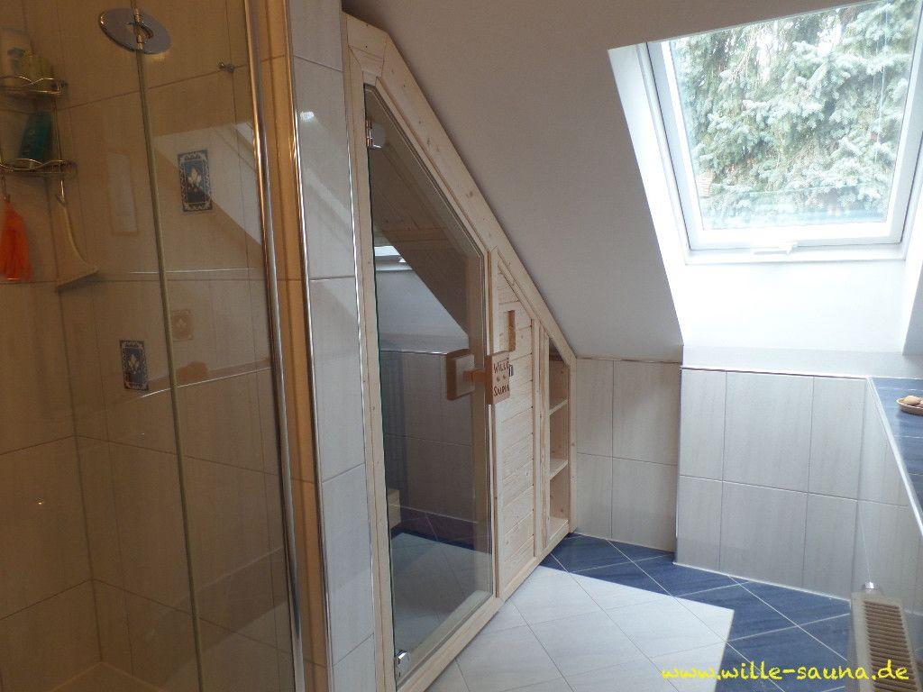 Sauna Dachschrage Wille Sauna De Badezimmer Umbau Sauna Badezimmerideen