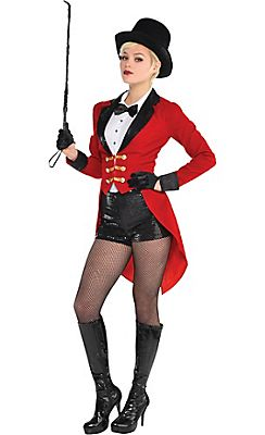Adult Circus Ringmaster Costume More  sc 1 st  Pinterest : circus woman costume  - Germanpascual.Com