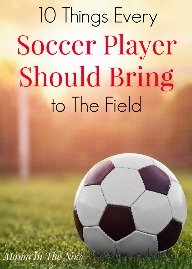 10 Things Every Soccer Player Should Bring To The Field Soccer Soccer Players Soccer Practice
