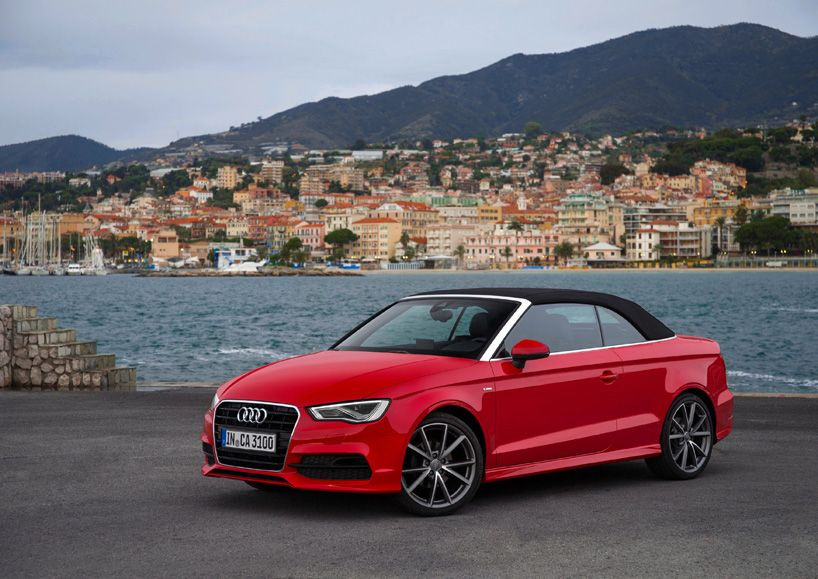 The Audi A3 Cabriolet Fascinates With New Lightweight Design A3 Cabriolet Audi A3 Cabriolet Audi A3 Sedan
