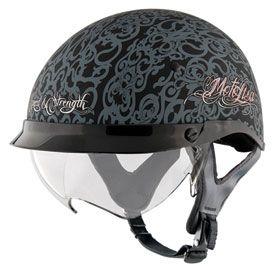 Speed and Strength SS400DVD MotoLisa Ladies Open-Face Motorcycle Helmet | Motorcycle | Rocky Mountain ATV/MC