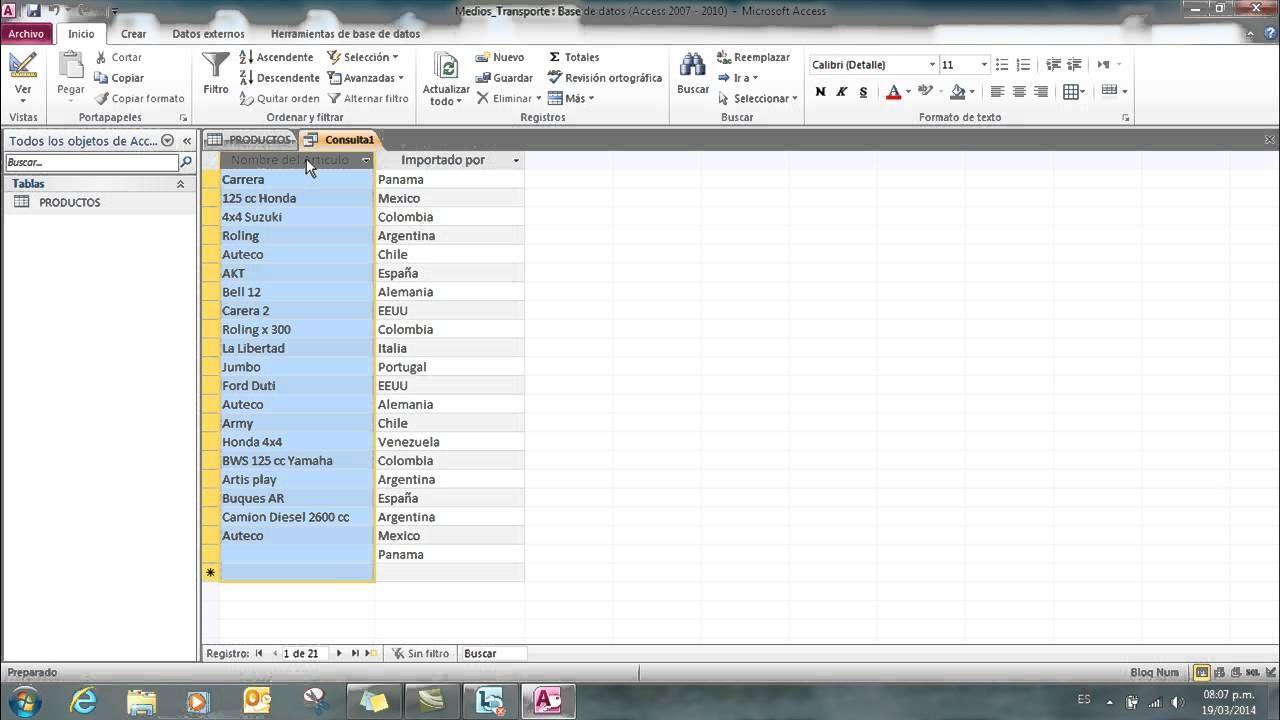 completo tutorial microsoft access 2010 hd | microsoft access