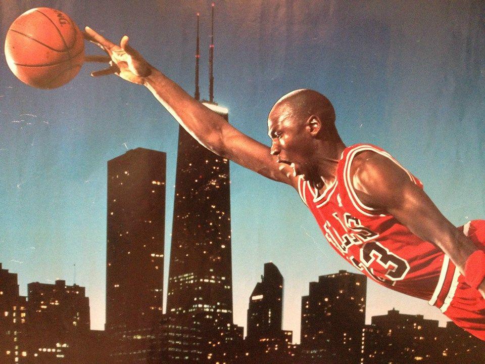 Shoezeum Vintage Original Michael Jordan Poster Og Nike Air 7 Vii Raptors 39 Baloncesto