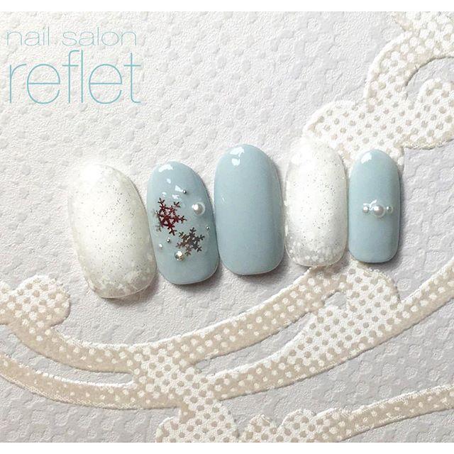 この画像は「指先から冬を感じる、ネイルで楽しむワタシだけの冬コレクション♡」のまとめの6枚目の画像です。