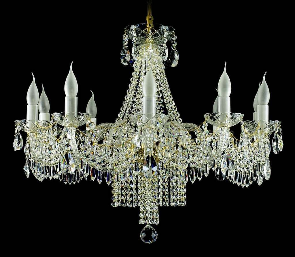 Restore an Antique Brass Crystal Chandelier in 2020