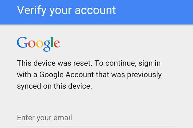 Saltarse el sistema antirrobo de Google sigue siendo posible en Android 6.0