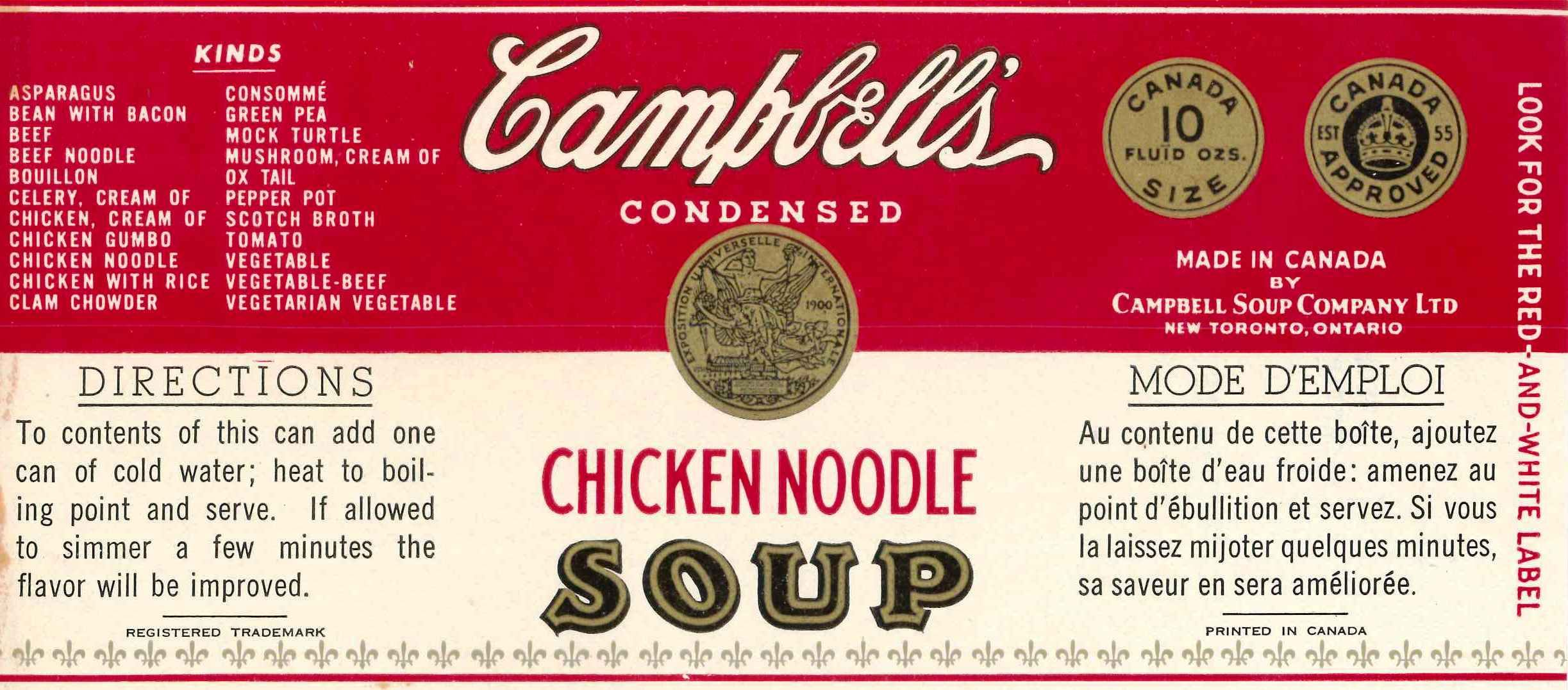 Image result for campbells mock turtle soup
