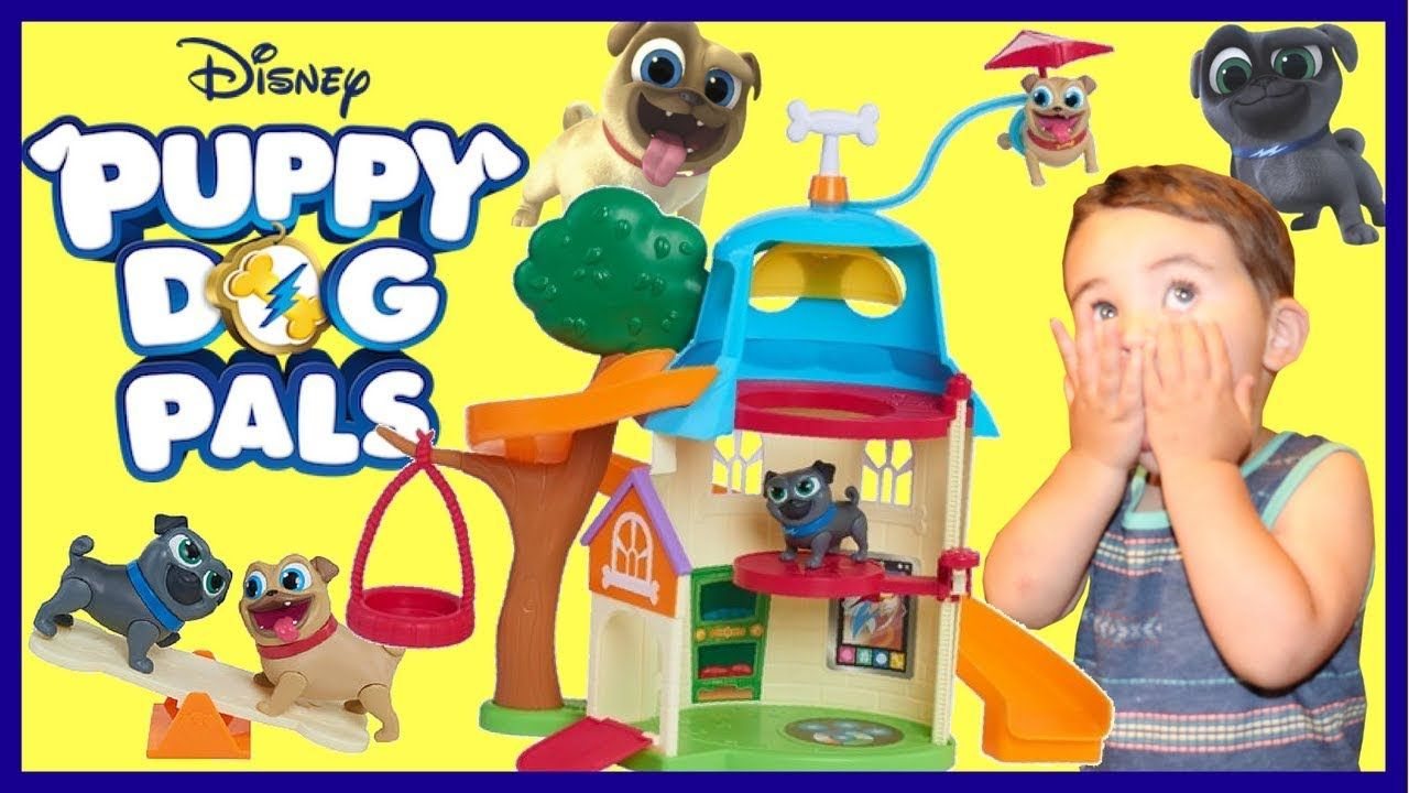 Puppy Dog Pals Toys Bingo And Rolly Dog House Play Set Unboxing