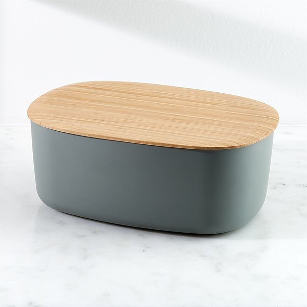 Rig Tig By Stelton Modern Bread Box Crate And Barrel In 2020 Modern Bread Boxes Bread Boxes Bread Container