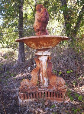 Fabulous Rustic French Bird Bath And It S For Sale Bird Bath Garden Whimsy Rustic French