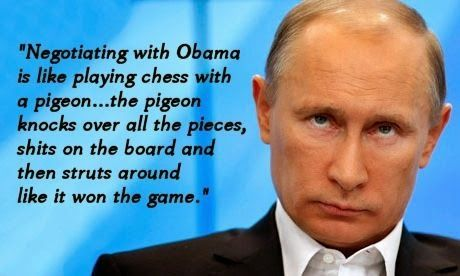 Image Result For Vladimir Putin Quotes Obama Conservative Memes Pigeon
