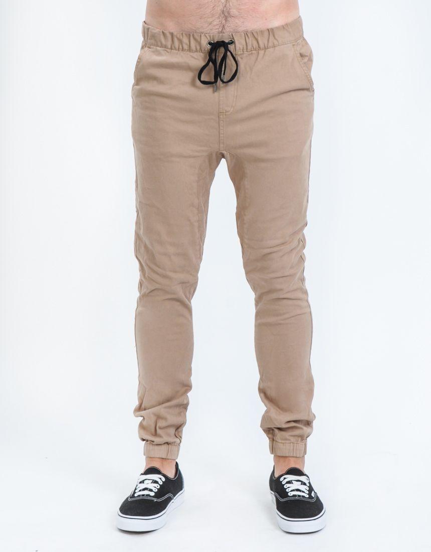 Men's Pants / Chinos - Flukey Elastic Pant by St. Goliath - Edge Clothing