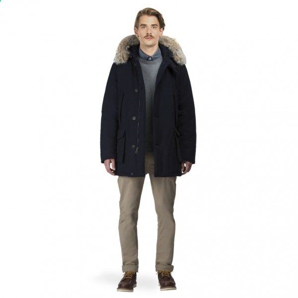 Woolrich Men S Tecnowool Arctic Parka Df Navy Woolrich Woolrichjrb Woolrichpeople Woolrich Men Menswear Arctic Parka