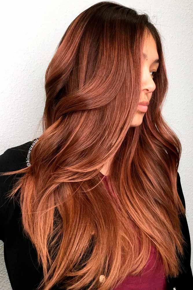 40 Auburn Hair Color Ideas To Look Natural Hair Pinterest