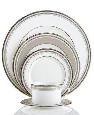 Kate Spade New York Dinnerware, Palmetto Bay 5 Piece Place Setting   Fine  China