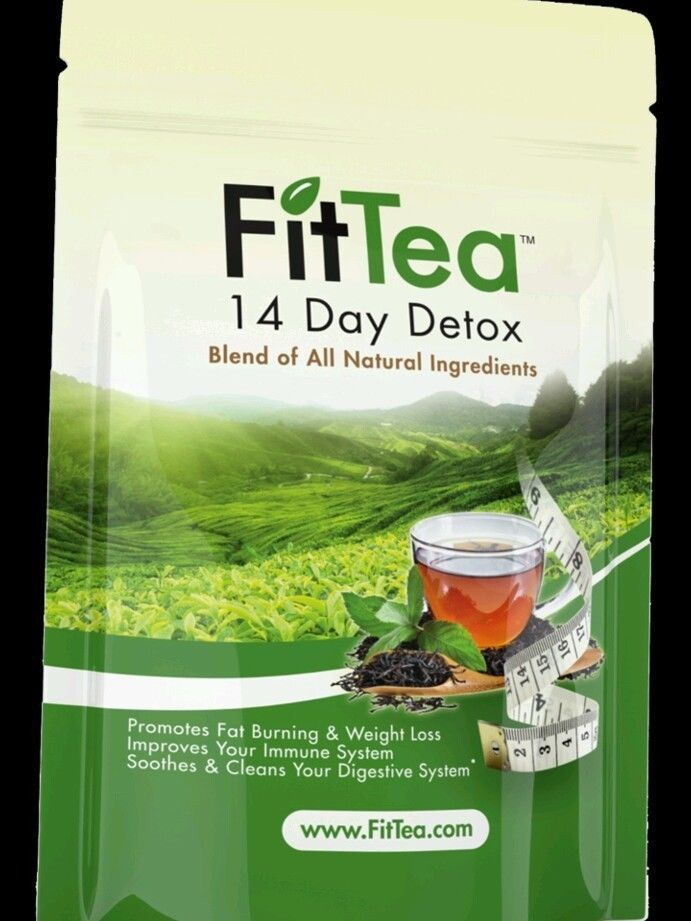 FIT TEA 14 Day Tea Detox - Promotes fat Burning - NEW #FitTea