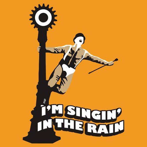 clockwork orange singing in the rain - 500×500