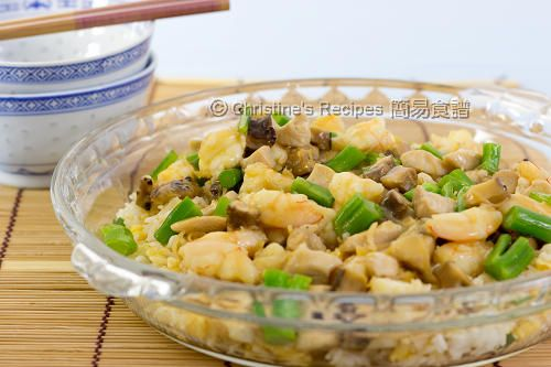 Hokkien Fried Rice (福建炒飯) - Christine's Recipes: Easy Chinese Recipes | Easy Recipes