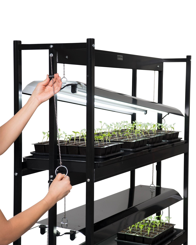 Sunlite 3 Tier Led Grow Light Gardener S Supply Grow Lights