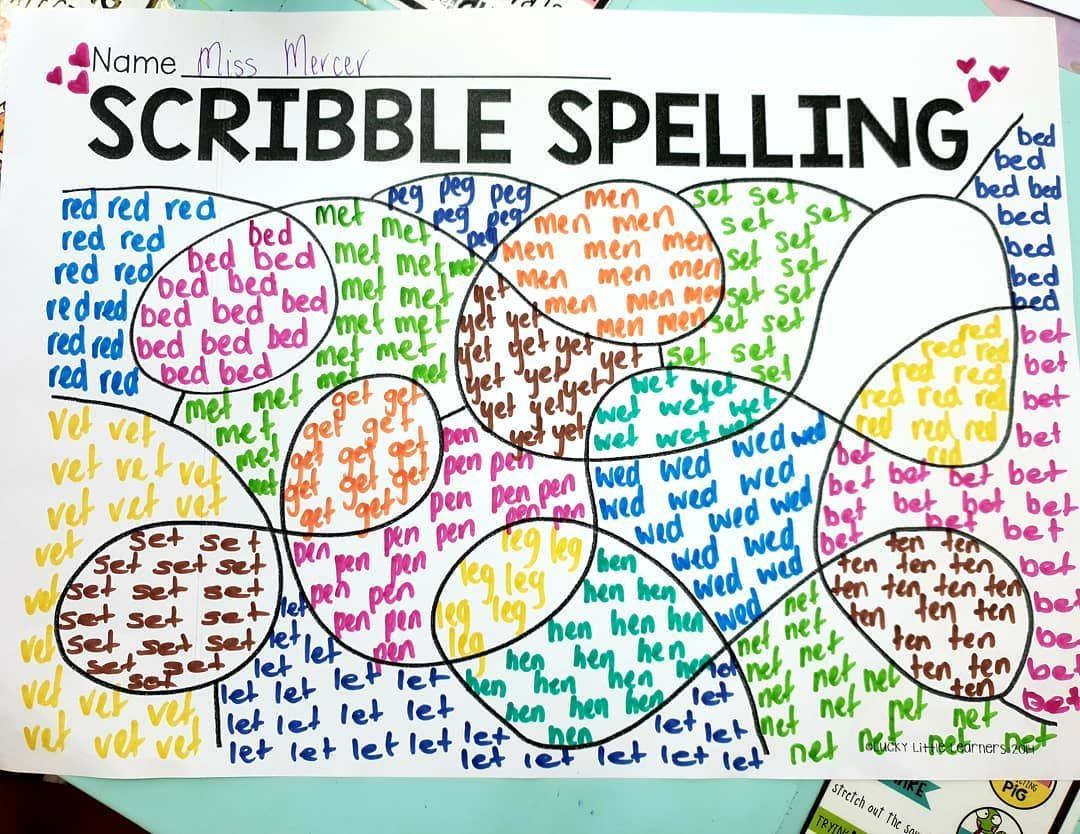 This Spelling Activity Was A Hit With My Kid S This Week