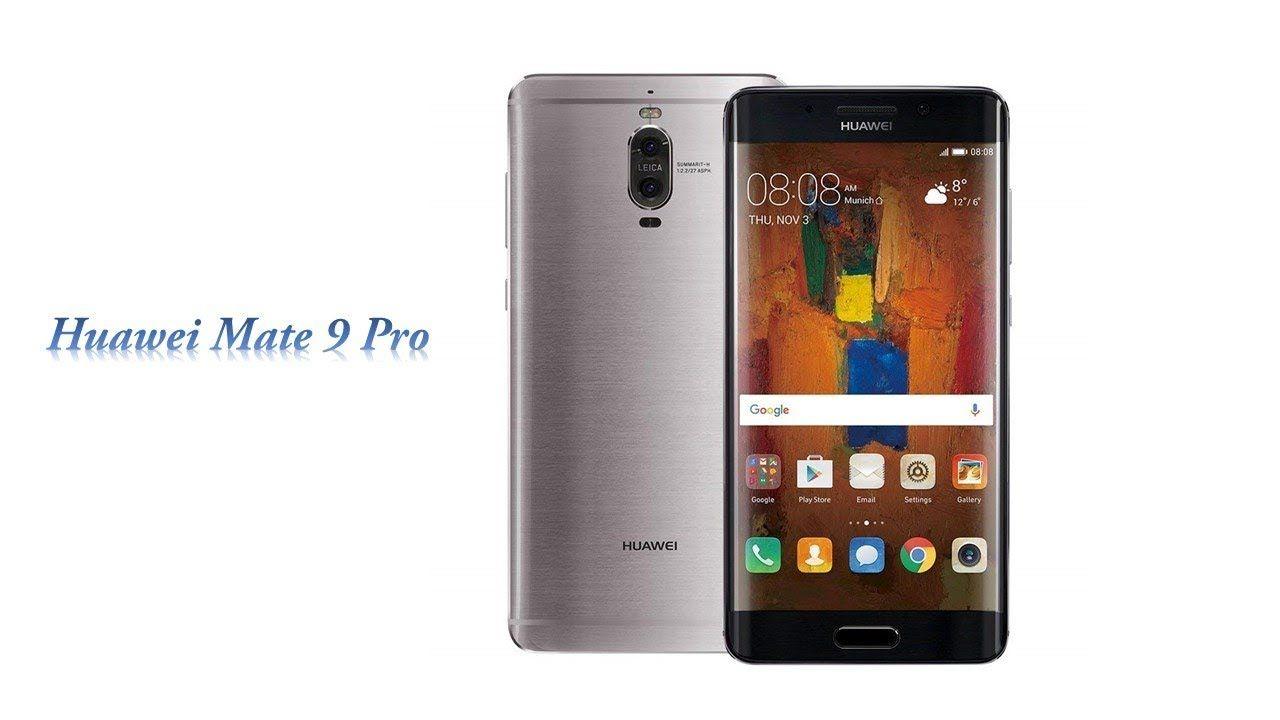 Huawei mate 9 pro international stock no warranty grey